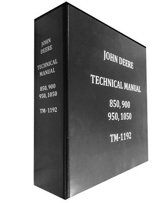 950 John Deere Technical Service Shop Repair Manual Huge Book