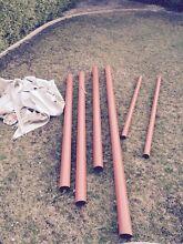 Shade sail poles Kingston Kingborough Area Preview