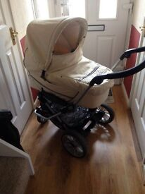 Emmaljunga Pram and Pushchair with lots of extras