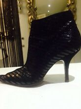 CALVIN KLEIN SNAKESKIN BOOTS Merrimac Gold Coast City Preview
