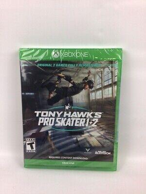 Tony Hawk's Pro Skater 1 + 2 Standard Edition - Xbox One Sealed Brand New