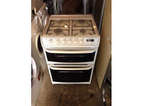 White Cannon Very Nice Gas Cooker 60cm Wide (Fully Working & 4 Month Warranty)