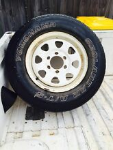 3xsteel navara rims tyers Holloways Beach Cairns City Preview