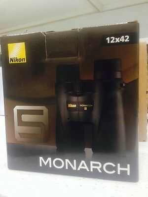Nikon 7578 MONARCH 5 12x42 Binocular-New