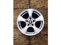 BMW 5 Spoke 17 Alloy Wheel 5 Stud 3 Series E90 E91 E92 E93 6770239 Tyre 225