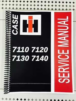 7140 Case International Harvester Technical Service Shop Repair Manual Ih