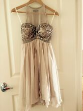 Bariano Formal Nude Sequin Dress size 6 Seven Hills Brisbane South East Preview
