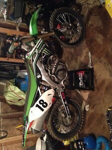 2012 kx450f just rebuilt  top to bottom