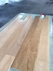 15mm real solid wood flooring (engineered) walnut natural lacquered
