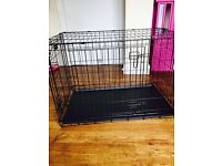 Dog crate large 3 foot