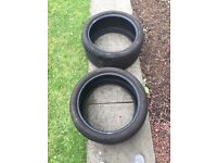 Tyres x 2 for free