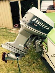 Evinrude 90hp outboard Canning Vale Canning Area Preview