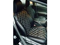 TOYOTA PRIUS,DESIGNER SEAT COVERS,MADE TO MEASURE BY CSC!!!