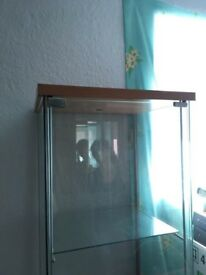 Tall Glass Cabinet
