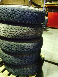 Bridgestone tyres x 5 High Wycombe Kalamunda Area Preview