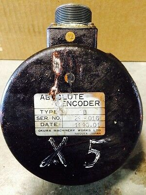 Okuma Absolute Encoder Type Fb Fits Machine Cnc Milling Vmc