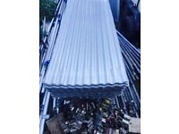 Galvanised roofing tin sheets