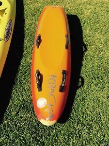 KRACKA fibreglass nipper board Belmont North Lake Macquarie Area Preview