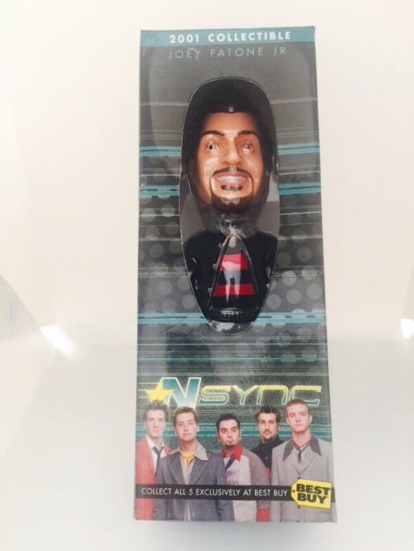 NSYNC Joey Fatone Exclusive 2001 BEST BUY Collectible Bobble Head