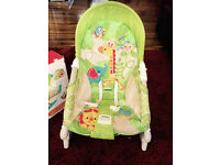Portable baby rocker - Good condition and rarely used