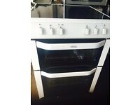 BELLING 60CM NEW MODEL ELECTRIC COOKER, 4 MONTHS WARRANTY, FREE LOCAL DELIVERY