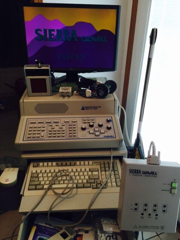 Cadwell Central Lab EMG EEG EP Machine