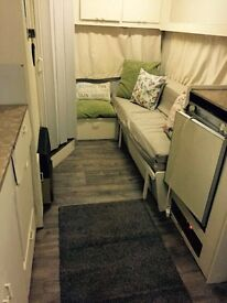 Waxwing 4 berth vintage caravan reduced for quick sale