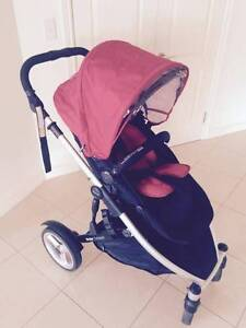 Strider Compact stroller single or two seat Paradise Point Gold Coast North Preview