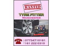 Wanted Tyre Fitter – Manchester