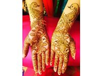 Bridal Henna, wax, hair & makeup available