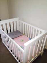 Premium Boori Cot/Bed, multiple heights & convertable to bed/chair Woolgoolga Coffs Harbour Area Preview