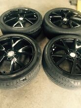X4 19 inch Holden  gts rims & tyres Dandenong Greater Dandenong Preview