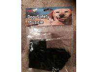 SIZE MEDIUM NEW IN BAG SAFETY MESH MUZZLE FOR DOGS