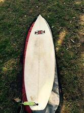 Iron Cross Surfboard 6ft McCrae Mornington Peninsula Preview