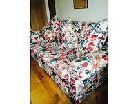Large sofa Laura Ashley style