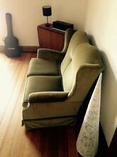 2 seater sofa / couch and 1 chair Windsor Stonnington Area Preview