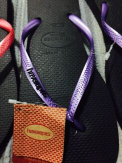 Authentic Havianas slippers Springwood Logan Area Preview