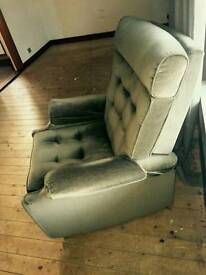 Sold Parker Knoll Recliner Armchairs & 3 seater sofa