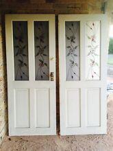 Double Front doors with deadlock East Kurrajong Hawkesbury Area Preview