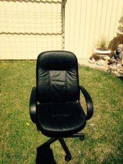 Black computer office chair Bligh Park Hawkesbury Area Preview