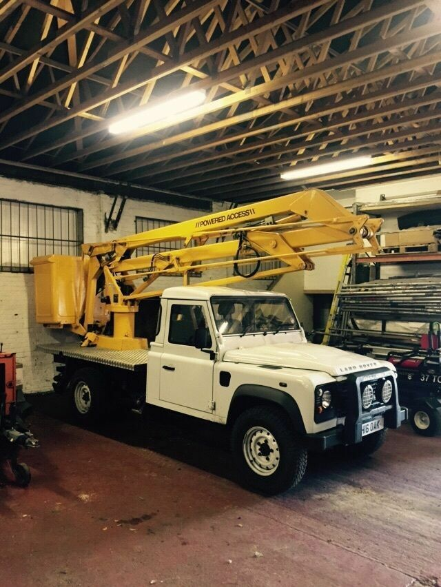 Cheap Cars For Sale In Ma >> 2004 Land Rover Defender - Cherry Picker 14.5metre | in Londonderry, County Londonderry | Gumtree
