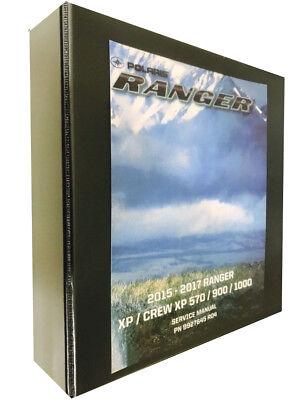 2017 Ranger Xp Crew 1000 Polaris Technical Repair Service Dealer Manual Binder