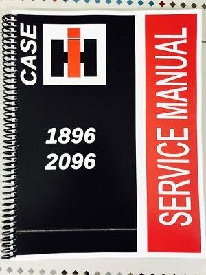 Case International Repair Manual - 1896 CASE International Harvester Technical Service Shop Repair Manual IH