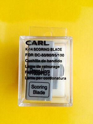 Carl K-14 Replacement Scoring Blade Cartridge Dc-90 Dc-95 Dc-100 Free Ship
