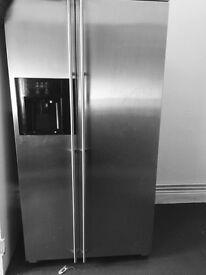 Stainless steel American fridge frezzer