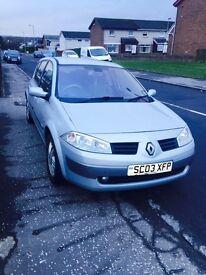 Renault Megane For Sale 03 plate