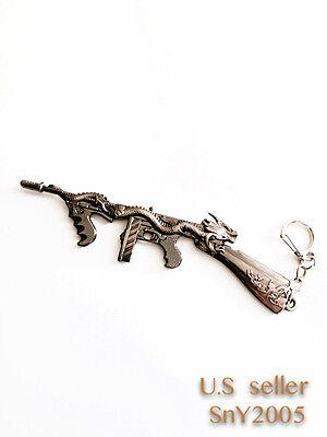 CF Dragon Assault Rifle Military Gun Key chain model Hanging key ring U.S SELLER