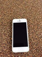 Perfect condition iPhone 5 white 16gb