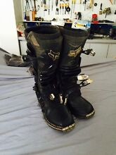 FOX TRACKER MOTOCROSS MOTORBIKE BOOTS Woodvale Joondalup Area Preview