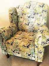 Wing Chair - 1 Seater St Leonards Willoughby Area Preview
